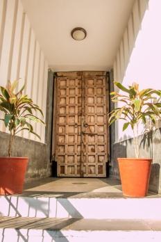 Qilasaaz Suites - main door